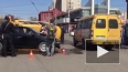 Жесткое видео из Астрахани: маршрутка с пассажирами ...