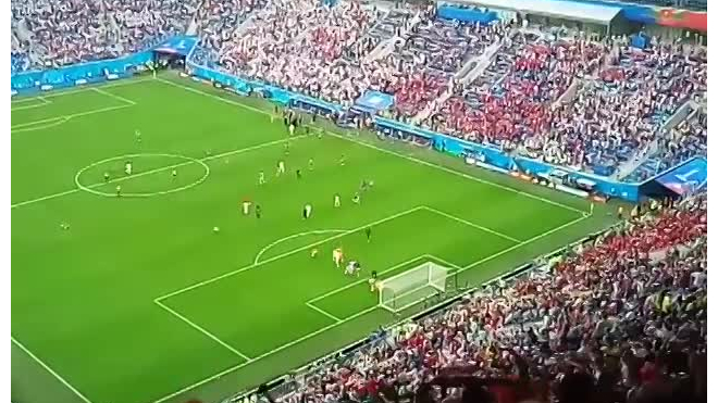 "Матч Марокко - Иран установил рекорд посещаемости стадиона ""Санкт-Петербург"""