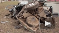 Nissan разорвало надвое на Кушелевской дороге