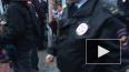 Вход на митинг у Финляндского вокзала