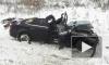 Опубликованы фотографии с места страшного ДТП под Воронежем: 4 автомобиля, трое погибших, пятеро раненых