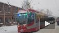 Сломавшийся автобус парализовал движение на Кондратьевском ...