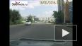 Парашютист упал прямо на тротуар в Чите.