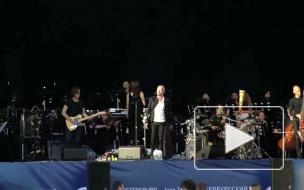 Десятки тысяч петербуржцев пришли на бесплатный концерт Стинга