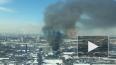 Видео: на Митрофаньевском шоссе горят склады с мусором