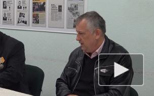 Губернатор Ленобласти посетил совет ветеранов Выборгского района