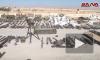 Появилось видео оставленного в освобожденном городе оружия террористов