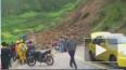 Видео из Колумбии: Автобус с пассажирами сорвался ...