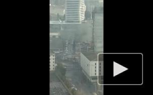 Опубликовано первое видео с места взрыва в Измире