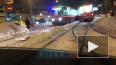 На Дальневосточном проспекте трамвай сошел с рельсов ...