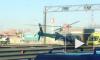 Видео: вертолет забирал жертв ДТП на КАД