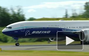 AFP: испытания новейшего Boeing 777X остановили из-за неполадок