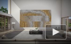 Samsung презентовал семиметровый телевизор