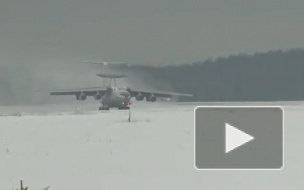 Видео из Иваново: Летающий радар А-50 вернулся на Родину из Сирии
