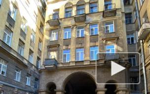 С доходного дома Иоффа на Загородном проспекте обрушился балкон