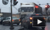 ДТП в Санкт-Петербурге: на Лиговском столкнулись фура и Фольксваген, под Петербургом насмерть сбили женщину