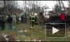 Появилось видео крупного пожара во Всеволожском районе