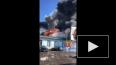 Видео: здание на Хрустальной рушится от пожара, пожарным ...
