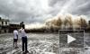 Тайфун Усаги, свирепствующий в Китае, убивает людей и сносит машины