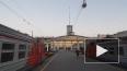 В Великом Новгороде лихач протаранил опору железнодорожн ...