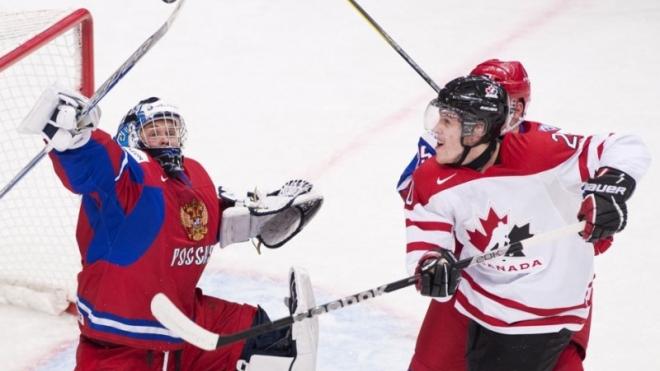 Россия зацепилась за бронзу, обыграв канадцев в овертайме молодежного ЧМ по хоккею