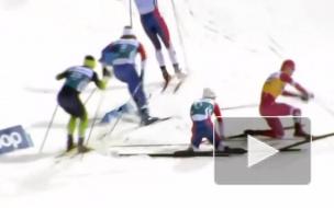 Лыжник Большунов обвинил норвежца Крюгера в своем падении на спринте