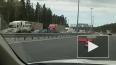 Дороги Петербурга стали красными из-за утренних пробок