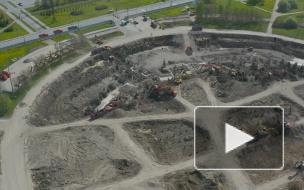 Видео: что осталось от СКК, спустя 4 месяца после трагичного обрушения