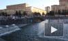 Фонтан на Московской площади снова работает