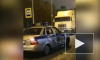 ДТП с полицейской машиной остановило движение трамваев в Рыбацком