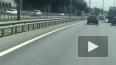 "В Ленобласти около ""Мега Парнас"" загорелся грузовик ..."