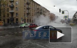 Прорыв трубы на Шевченко