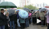 Защитников сквера на Кораблестроителей дождь не испугал