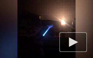 "Дома возле метро ""Парнас"" лишились света. Сейчас электричество восстановлено"