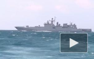 Пограничники РФ в Черном море остановили корвет НАТО одним сообщением