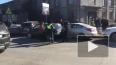 Две автоледи устроили массовую аварию на перекрестке ...