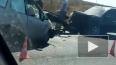 В лобовом ДТП под Астраханью пострадали 8 человек