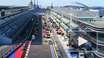 Закулисье первого дня Гран-при России в Сочи