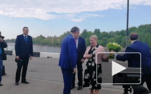 Видео: в Выборг прибыла министр просвещения РФ Ольга Васильева