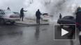 Тюменцы спасли автомобиль во время коммунальной аварии