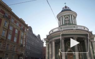 Анненкирхе: спустя 80 лет на здании установили крест