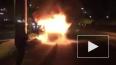 В центре Челябинска полностью выгорела машина скорой ...