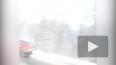 Видео: на Мурманском шоссе большегруз вылетел в кювет