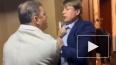 Опубликовано видео драки Олега Ляшко и депутата от ...