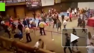 Массовая драка на Чемпионате Европы по кунг-фу