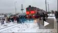 Поезда на переезде в Кудрово снизили скорость после ...