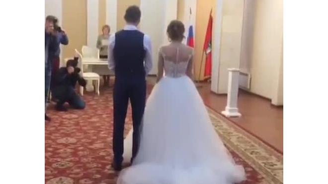 Появилось видео со свадьбы Дианы Шурыгиной