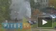 Двор на улице Жени Егоровой заливает кипятком