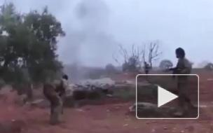 Появилось видео последнего боя пилота Су-25, сбитого в Сирии