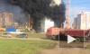 Появилось видео сильного пожара в новостройке в Саранске